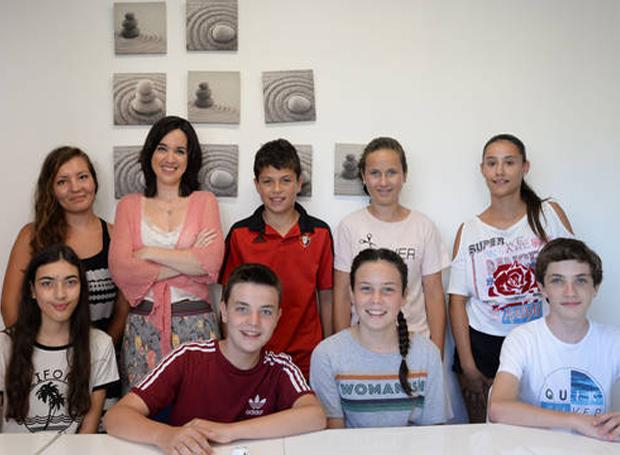 alumnos francés les cours de maite